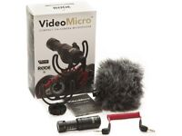 Rode VideoMicro Compact On-Camera Microphone RRP £50