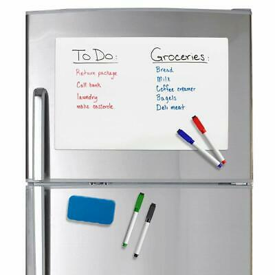 Refridge Reminder Magnetic Dry Erase Whiteboard 17 X 11 Sheet For Refriger