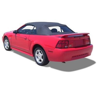 1be2ca5f3300 Ford Mustang Convertible Top   Defroster Glass window Black Sailcloth 1994- 2004