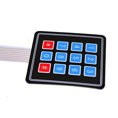 Keyes 4x4 34 Matrix Array 12 16 Key Membrane Keypad Keyboard For Arduino