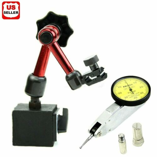 Universal Flexible Magnetic Metal Base Holder Stand Dial Test Indicator Tool USA Business & Industrial