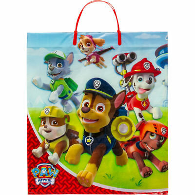 Paw Patrol Dogs Deluxe  Halloween Treat Loot Party Tote Bag 16