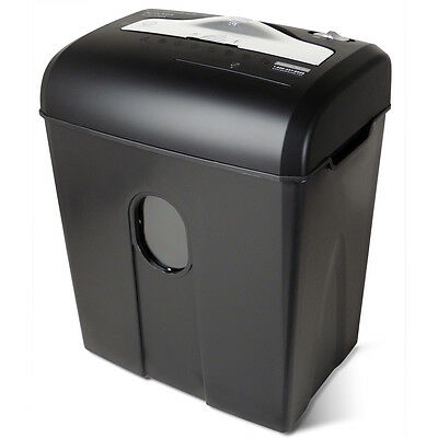 Aurora High Security Au820ma 8-sheet Microcut Paper Credit Card Cd Shredder