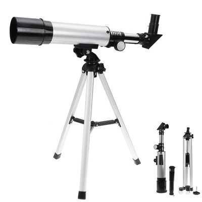 360×50mm Astronomical Refractor Telescope Refractive Eyepieces Tripod Monocula for sale  USA