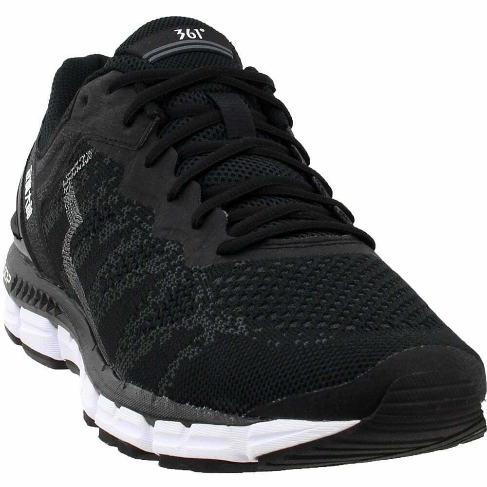 361 Degrees Energizer  Casual Training  Shoes - Black - Mens