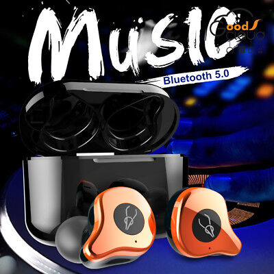 Earphone Sabbat E12 Pro 5.0 Bluetooth Wireless Headset Earbuds For Apple Android