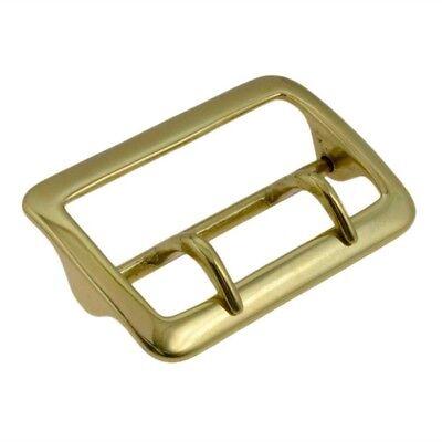 Sam Browne Brass Buckle Police Duty Belt Gear 2 1/4