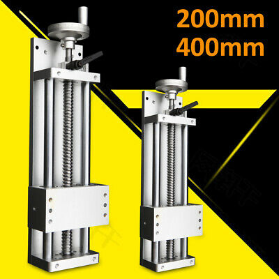 200mm 400mm Stroke Manual Sliding Table Ball Screw Linear Stage Cnc Slide Best