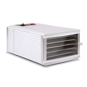 Stainless Steel 6 Trays Commercial Food Dehydrator