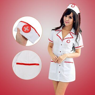 Erotic Adult Costumes (Sexy Nurse Uniforms Nurse Costumes 3 Piece/Set Erotic  Adult)