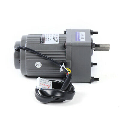 110v Gear Motor Electric Motor Variable Speed Controller Reduction Ratio 110