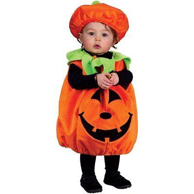 Childs Pumpkin Cutie Pie Halloween Fancy Dress Outfit Costume 12-24 - Pumpkin Pie Costume