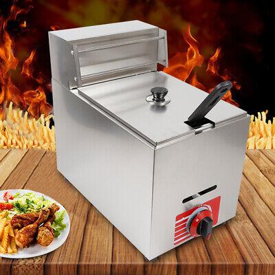 Commercial Countertop Gas Fryer 1 Basket Kld-71 Propane Lpg Deep Fryer 10l