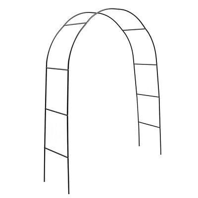 Metal Arbour Rose Arch Garden Climbing Plant Frame Gate Romantic Pergola Wedding
