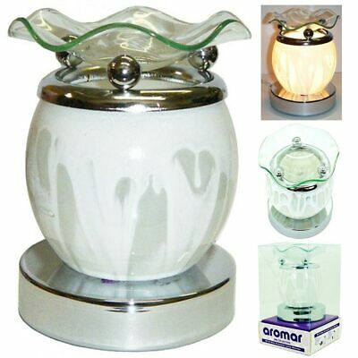 Eléctrico Toque Aroma Lámpara Aceite Calentador Fragancia Difusor Soporte Cera