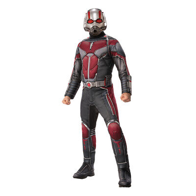 Mens Deluxe Ant-Man Halloween Costume