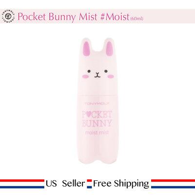 Tony moly Pocket Bunny Mist # Moist 60ml Moisturizing + Free Sample [ US Seller]