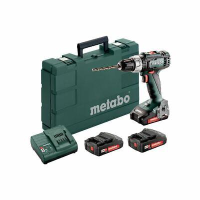 Metabo 18V batería Atornillador Eléctrico BS 18L Set Con 3x batería 2,0Ah