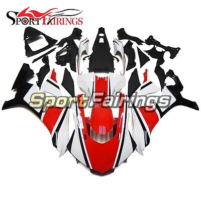 Red White ABS Fairings Body Kit For Yamaha YZF1000 R1 2015 2016 2017 18 2019 R1
