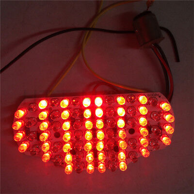 LED Tail Light Brake Integrated Turn Signals For 04-14 Yamaha Fz6 Fazer 600 Clea for sale  Shipping to Canada