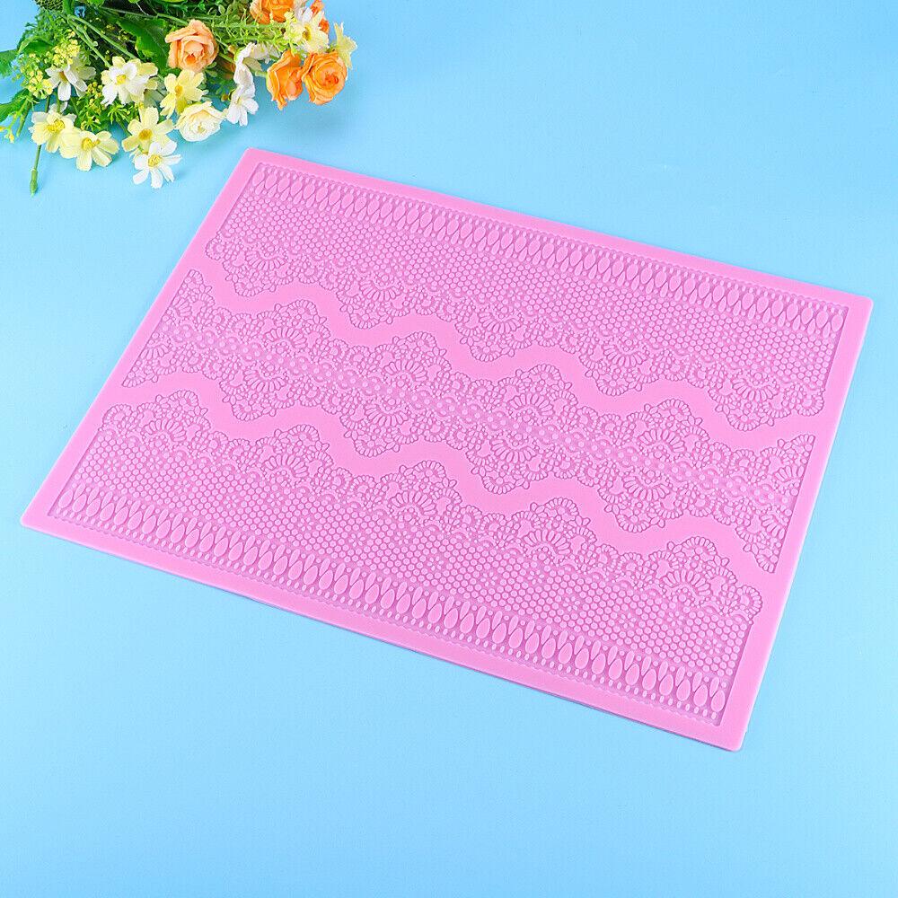 F5685 Przy Silicone Soap Lace Mold Mat Fatima Soap Handmade Soap Fondant Cake De