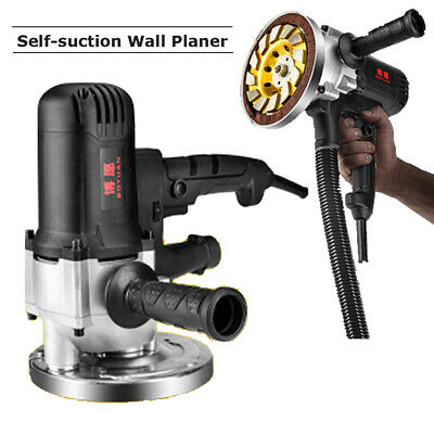 Electric Wall Planing Machine Concrete Wall Scraper Selfsuction Wall Planer 220v