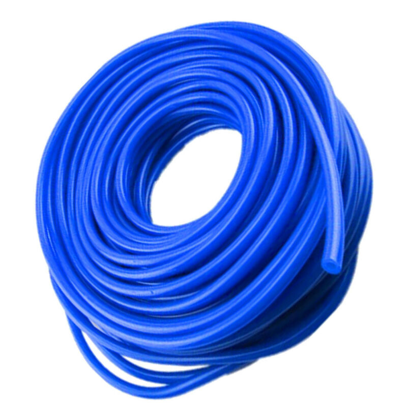 1Pcs Blue 4mm Car Vehicle Silicone Tubing Vacuum Tube Hose Silicone Tubing 16.4ft 5M 5 Meters