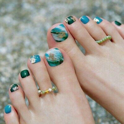 [ohora] Gel Nail Pedicure art patch 32pcs P Phytoncide K-Beauty