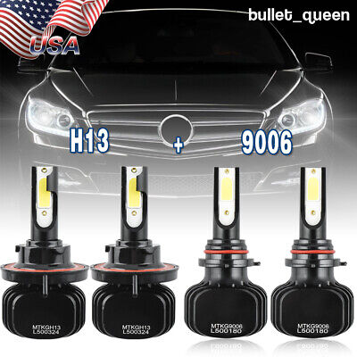 H13 9006 LED Headlight Bulb 9008 HB4 for Dodge Ram 1500 2500 3500 2006 2007 2008
