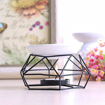 Stainless Steel Oil Burner Candle Aromatherapy Oil Lamp Home Decor Aroma 70ML - Oil Lamp Stainless Steel