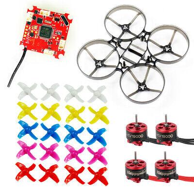 DIY Indoor Brushless FPV Drone  Kit 75mm Frame SE0703 Motor Crazybee F3 FC ESC