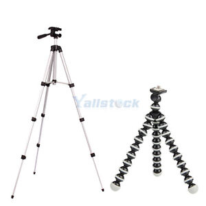 WT3110A Portable Stand Tripod + Flexible Mini Octopus SLR ZOOM For cameras HK