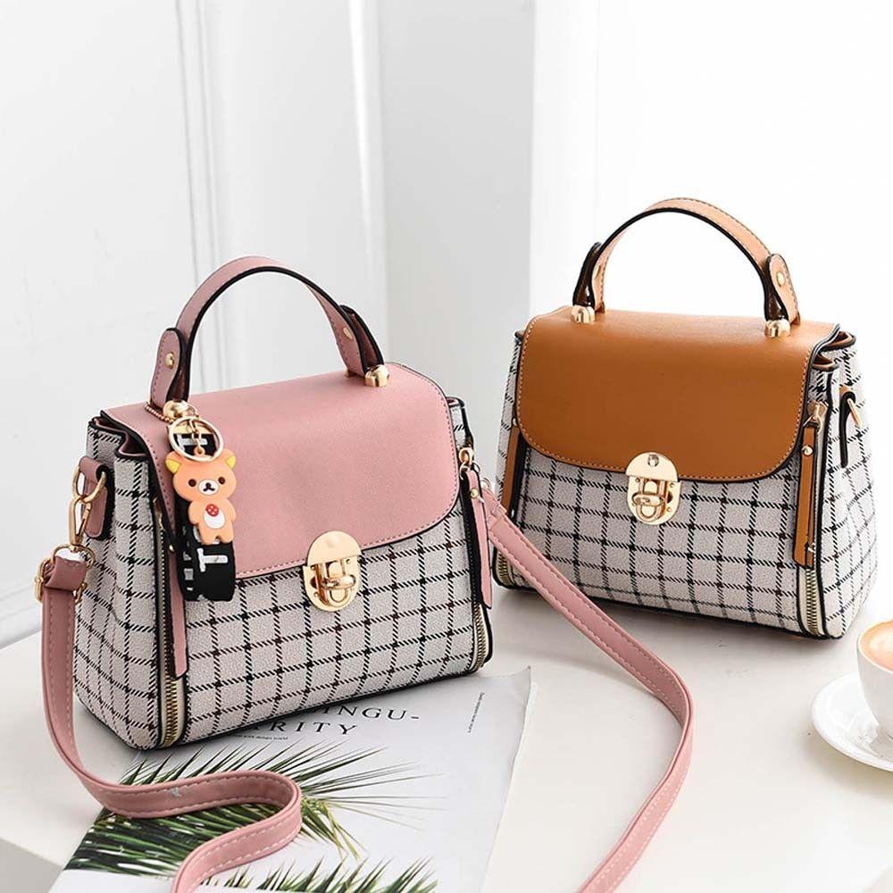 Fashion Faux Leather Handbag Shoulder Messenger Crossbody Satchel Women Tote Bag