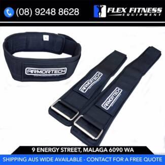 NEW V2 Nylon Weigh Lifting Belts, Durable & Strong Supports Back