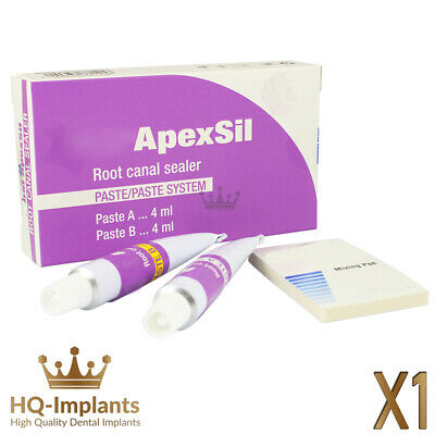 Apexsil Root Canal Paste Sealer Filling Material Dental Endodontic 4ml Sealant