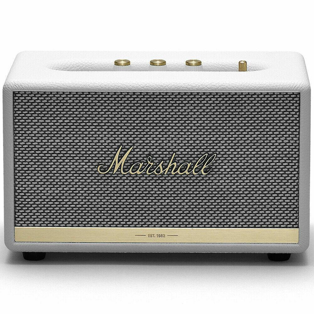 Marshall Acton II 50W Wireless Bluetooth Home Speaker - Whit