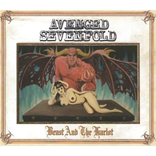 Avenged Sevenfold Beast And The Harlot SINGLE 12x12 Album Cover Replica Poster