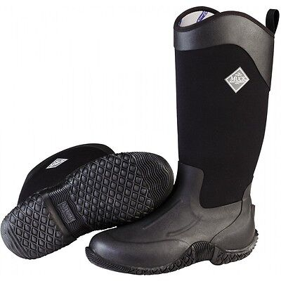 LADIES MUCK BOOTS TACK II HIGH BOOTS BLACK TK2H-000 Muck, Tack