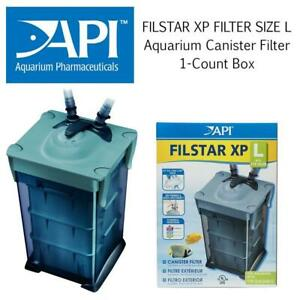 API FILSTAR XP FILTER SIZE L Aquarium Canister Filter 1-Count Box Condtion: Lightly used, Large, Missing the pieces
