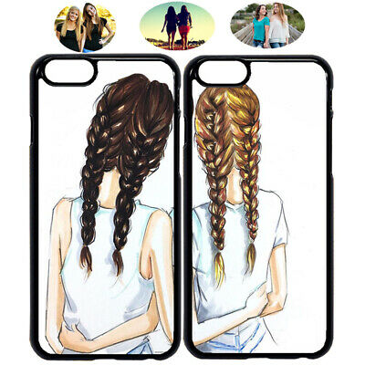 Cute Embrace Sister Best Friend Phone Case Cover For iPhone X XR XS 6 7 8 S9