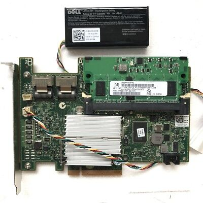 DELL PERC H700 6Gb/s 512mb Battery RAID CARD for R310 R410 R510 R610 R710 R810
