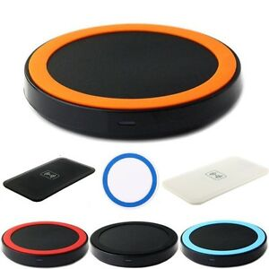 chargeur sans fil universel induction qi wireless charger ebay. Black Bedroom Furniture Sets. Home Design Ideas