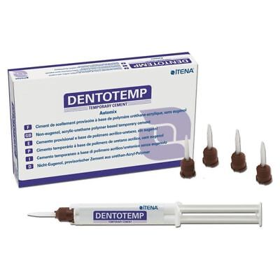 Temporary Luting Cement For Implants Crown Dentotemp 2x5ml Kit Itena Dental