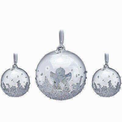2015 Swarovski Annual Edition Angel Ball Ornament Set ~ #5136414 ~ NIB
