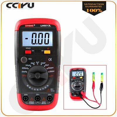 Capacitor Tester Capacitance Meters Test Detectors Equipment Measure Ua6013l