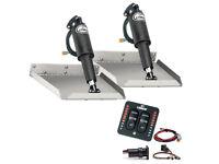 "Lenco 9"" x 12"" Edge Mount Trim Tab Kit w/LED Indicator Switch Kit"