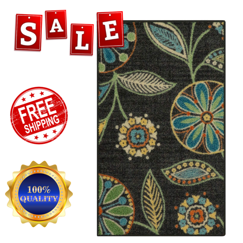 Maples Rugs For Kitchen Non Skid Accent Area Carpet 1'8 x 2'