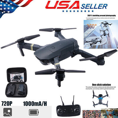 720P Mini Drone Quadcopter Selfie WIFI FPV HD Camera Foldable Arm RC Toy Settled