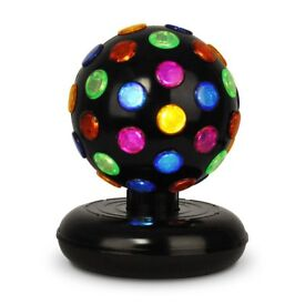LARGE DISCO BALL LIGHT - PERFECT FOR ANY PARTIES - IDEAL CHRISTMAS GIFT