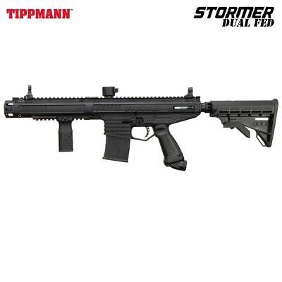 Tippmann Stormer Elite Dual Fed Paintball Gun Mechanical Mar